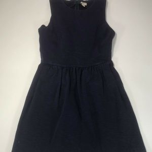 J. Crew Womens Purple Short Sleveless Dress